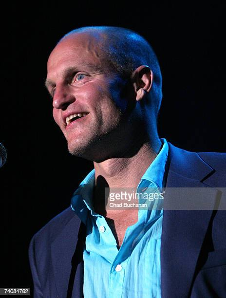 Actor Woody Harrelson attends the 3rd Annual Hullabaloo to benefit the Silverlake Conservatory at the Music Box at the Henry Fonda Theater on May 5...