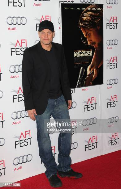 Actor Woody Harrelson attends the AFI FEST 2013 presented by Audi screening of 'Out of the Furnace' at the TCL Chinese Theatre on November 9 2013 in...