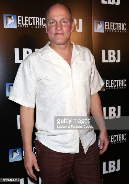 Actor Woody Harrelson attends the premiere of Electric Entertainment's 'LBJ' at ArcLight Hollywood on October 24 2017 in Hollywood California