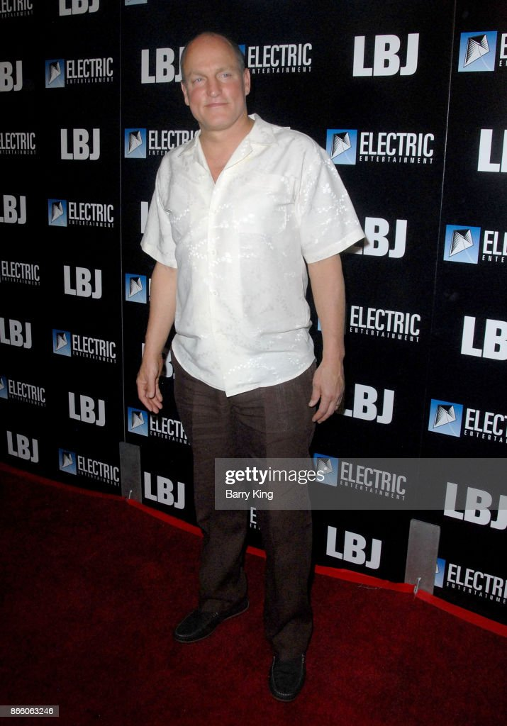 Actor Woody Harrelson attends the premiere of Electric Entertainment's 'LBJ' at ArcLight Hollywood on October 24, 2017 in Hollywood, California.