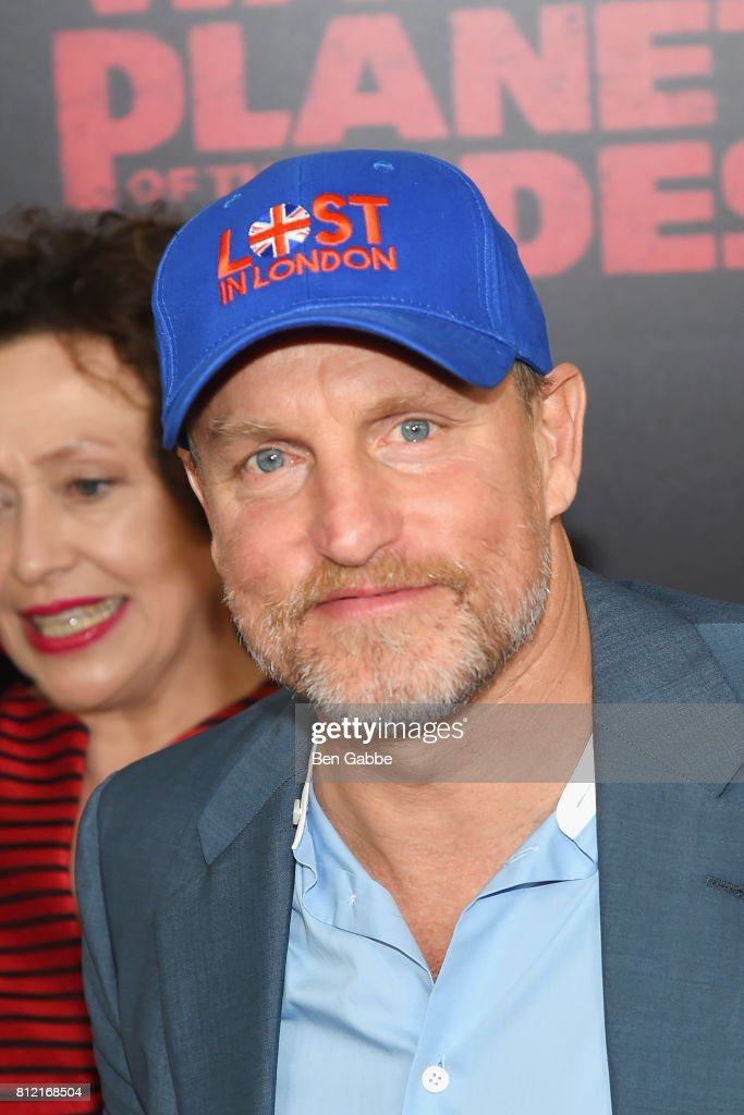 Actor Woody Harrelson attends the 'War for the Planet Of The Apes' New York Premiere at SVA Theater on July 10, 2017 in New York City.