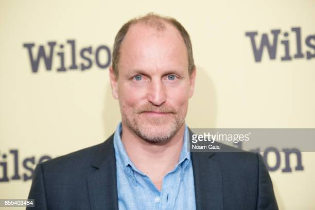 Actor Woody Harrelson attends the 'Wilson' New York screening at the Whitby Hotel on March 19 2017 in New York City