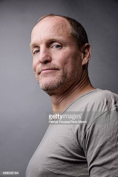 Actor Woody Harrelson is photographed for Paris Match on November 9 2015 in Paris France