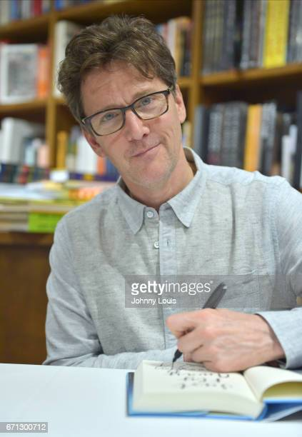Actor writer and director Andrew McCarthy discusses and signs copies of his book 'Just Fly Away' at Books and Books on April 21 2017 in Coral Gables...