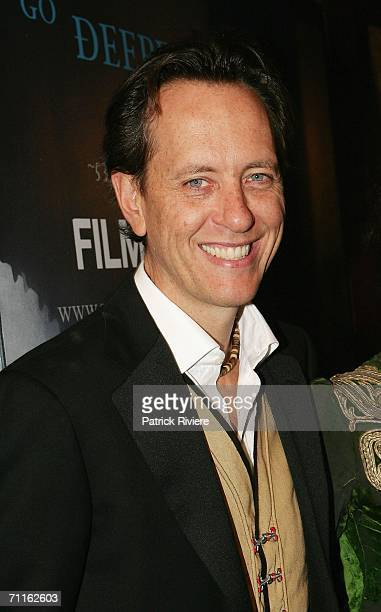 Actor writer and director Richard E Grant attends the Sydney Film Festival Opening Night at the State Theatre June 9 2006 in Sydney Australia