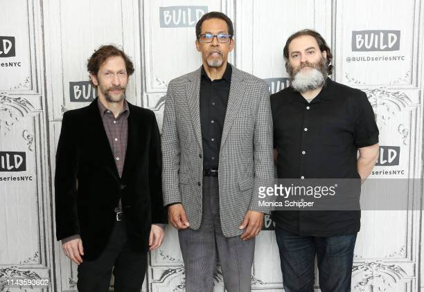 """Actor, writer and director Tim Blake Nelson, actor Peter Jay Fernandez, and actor Michael Stuhlbarg discuss the off-Broadway play """"Socrates"""", when..."""