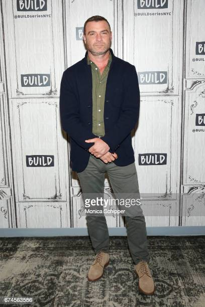 "Actor, writer and producer Liev Schreiber attends Build Series Presents Liev Schreiber, Philippe Falardeau and Chuck Wepner Discussing ""Chuck"" at..."