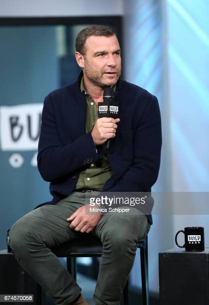 Actor, writer and producer Liev Schreiber speaks on stage at Build Series Presents Liev Schreiber, Philippe Falardeau and Chuck Wepner Discussing...
