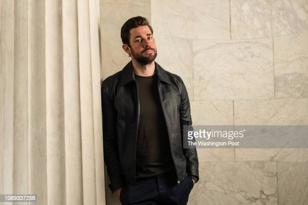 Actor writer director John Krasinski who helmed the critically acclaimed A Quiet Place has been tapped for a sequel to the film He is pictured at...