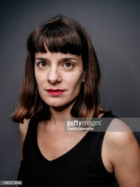 Actor writer film and theater director Lola Arias is photographed at the BFI London Film Festival on October 16 2018 in London England