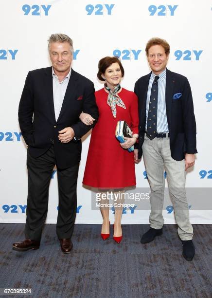 Actor writer producer and comedian Alec Baldwin journalist Janet Maslin and entrepreneur natural resources investor philanthropist and art collector...