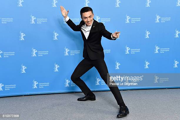 Actor Wu Lipeng attends the 'Crosscurrent' photo call during the 66th Berlinale International Film Festival Berlin at Grand Hyatt Hotel on February...