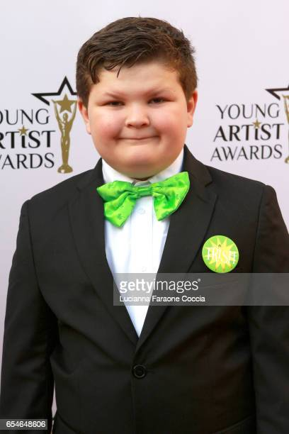 Actor Wyatt McClure attends the 38th Annual Young Artists Awards at Alex Theatre on March 17 2017 in Glendale California