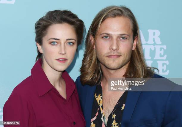 "Actor Wyatt Nash and Aubrey Swander attend the screening of Netflix's ""Dear White People"" season 2 at ArcLight Cinemas on May 2, 2018 in Hollywood,..."