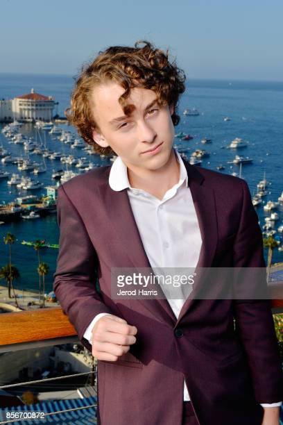 Actor Wyatt Oleff attends the 2017 Catalina Film Festival on September 30 2017 in Catalina Island California
