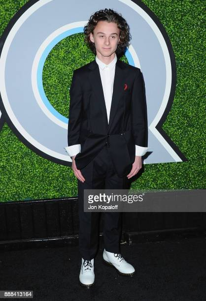 Actor Wyatt Oleff attends the 2017 GQ Men Of The Year Party at Chateau Marmont on December 7 2017 in Los Angeles California
