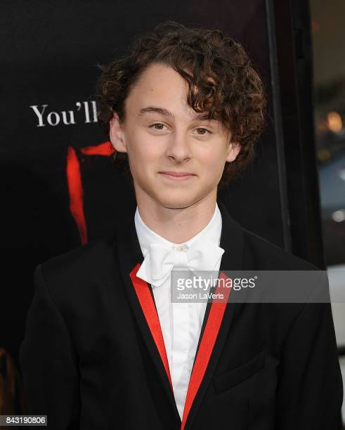 Actor Wyatt Oleff attends the premiere of 'It' at TCL Chinese Theatre on September 5 2017 in Hollywood California
