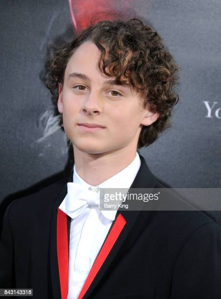 Actor Wyatt Oleff attends the premiere of Warner Bros Pictures and New Line Cinemas' 'It' at TCL Chinese Theatre on September 5 2017 in Hollywood...