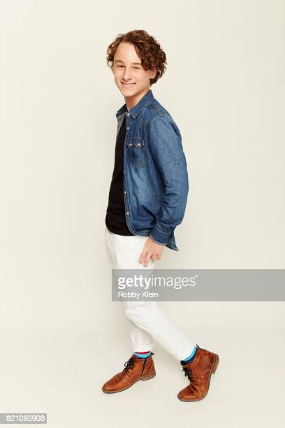 Actor Wyatt Oleff poses for a portrait during ComicCon 2017 at Hard Rock Hotel San Diego on July 20 2017 in San Diego California
