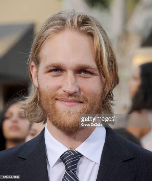 "Actor Wyatt Russell arrives at the Los Angeles premiere of ""22 Jump Street"" at Regency Village Theatre on June 10, 2014 in Westwood, California."