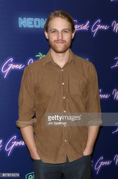 Actor Wyatt Russell attends The New York premiere of Ingrid Goes West hosted by Neon at Alamo Drafthouse Cinema on August 8 2017 in the Brooklyn...