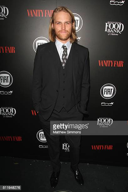 Actor Wyatt Russell attends Vanity Fair and FIAT Toast To Young Hollywood at Chateau Marmont on February 23 2016 in Los Angeles California