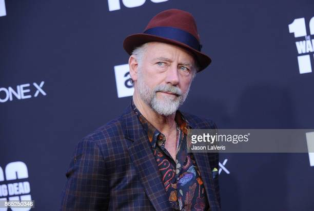 Actor Xander Berkeley attends the 100th episode celebration off 'The Walking Dead' at The Greek Theatre on October 22 2017 in Los Angeles California