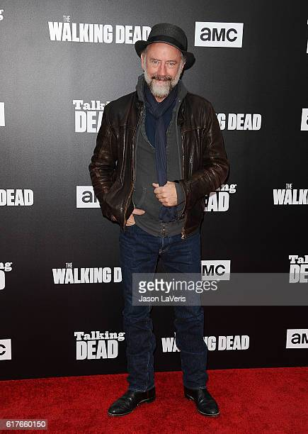 Actor Xander Berkeley attends the live 90minute special edition of 'Talking Dead' at Hollywood Forever on October 23 2016 in Hollywood California