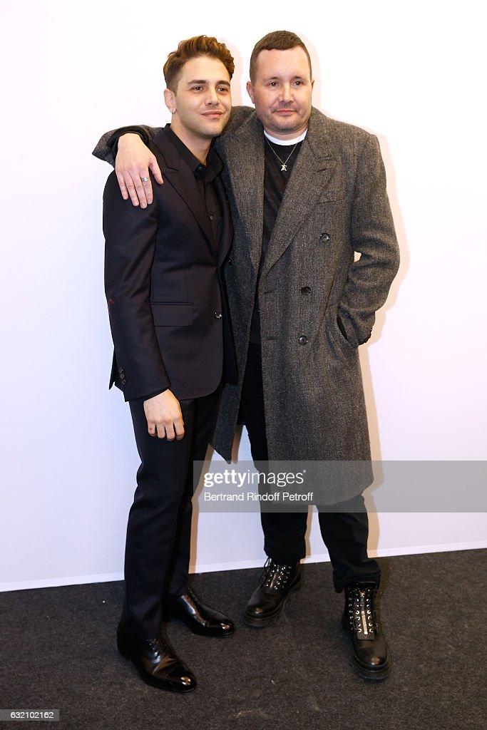Louis Vuitton: Backstage - Paris Fashion Week - Menswear F/W 2017-2018