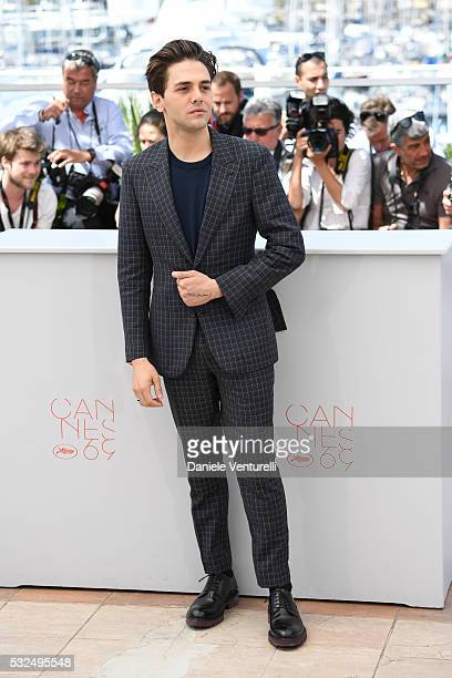 Actor Xavier Dolan attends 'It's Only The End Of The World ' during the Photocall - The 69th Annual Cannes Film Festival on May 19, 2016 in Cannes, .