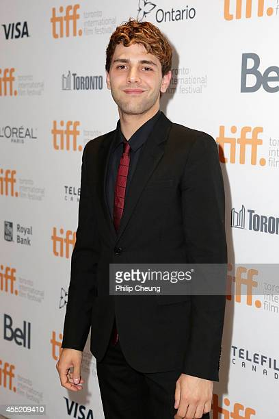 Actor Xavier Dolan attends the 'Elephant Song' premiere during the 2014 Toronto International Film Festival at Isabel Bader Theatre on September 10...