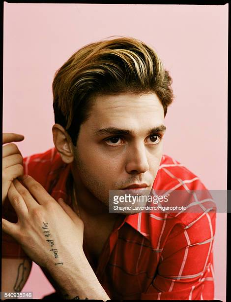 Actor Xavier Dolan is photographed for Madame Figaro on April 8 2016 in Paris France All PUBLISHED IMAGE CREDIT MUST READ Shayne...