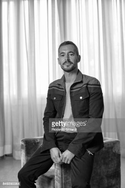 Actor Xavier Legrand is photographed for Self Assignment on September 8 2017 in Venice Italy