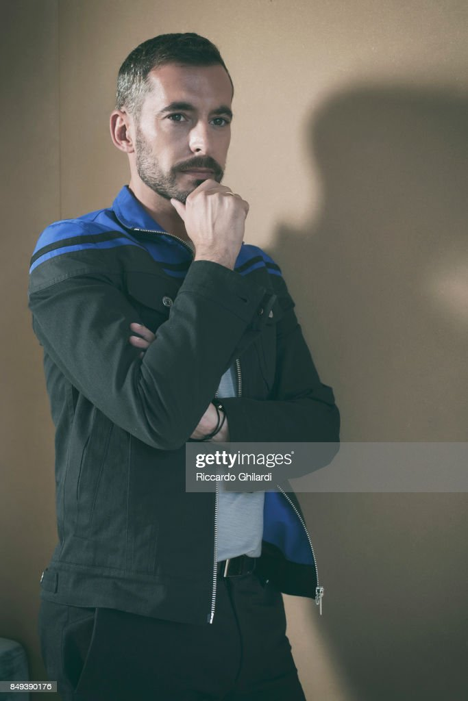 Actor Xavier Legrand is photographed for Self Assignment on September 8, 2017 in Venice, Italy. (Photo by Riccardo Ghilardi/Contour by Getty Images).