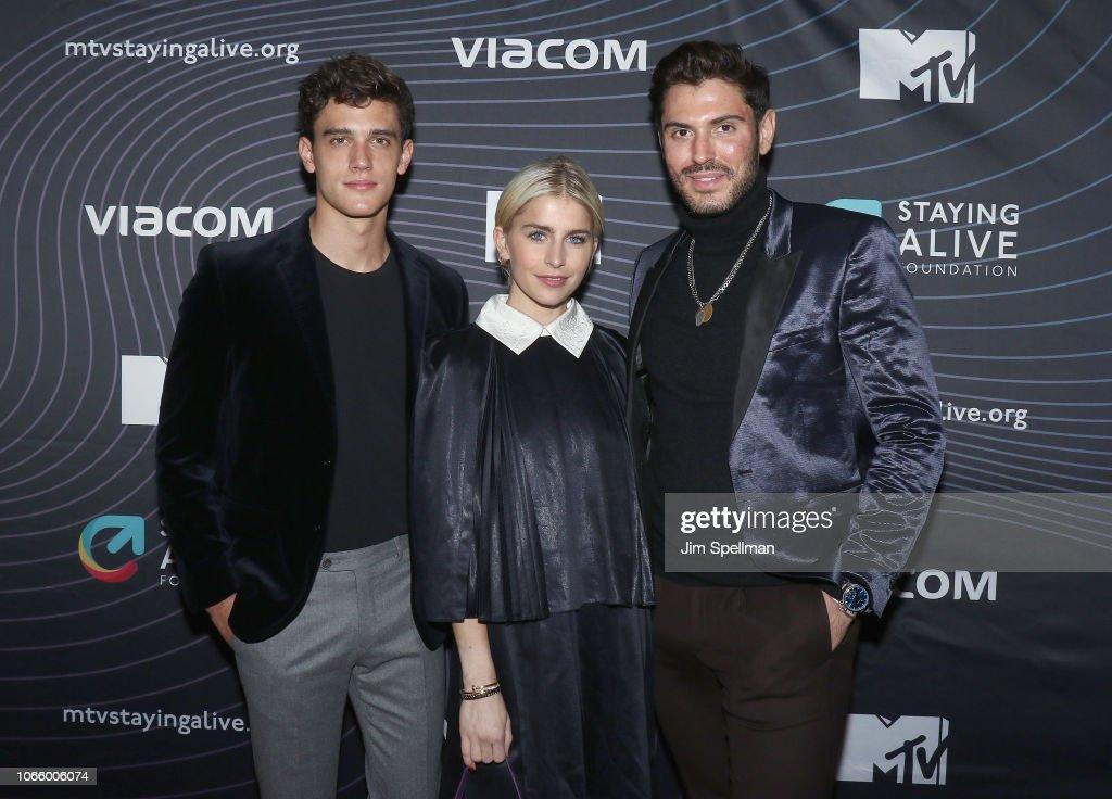 MTV Staying Alive Foundation 20th Anniversary Gala : News Photo