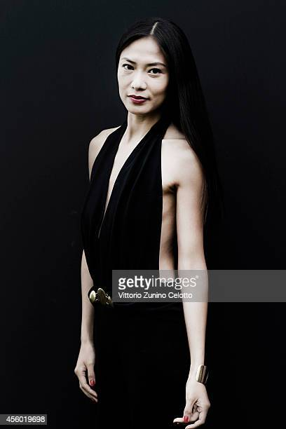Actor Xin Wang is photographed on August 31 2014 in Venice Italy