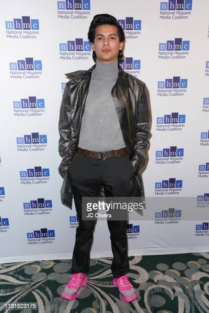 Actor Xolo Mariduena attends the 22nd Annual National Hispanic Media Coalition Impact Awards Gala at Regent Beverly Wilshire Hotel on February 22...