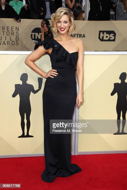 Actor Yael Grobglas attends the 24th Annual Screen Actors Guild Awards at The Shrine Auditorium on January 21 2018 in Los Angeles California 27522_017