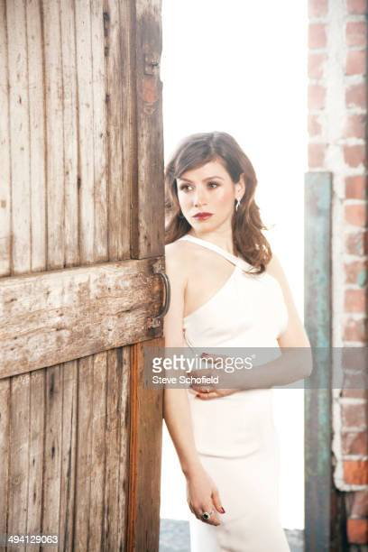 Actor Yael Stone is photographed for Emmy magazine in Los Angeles California