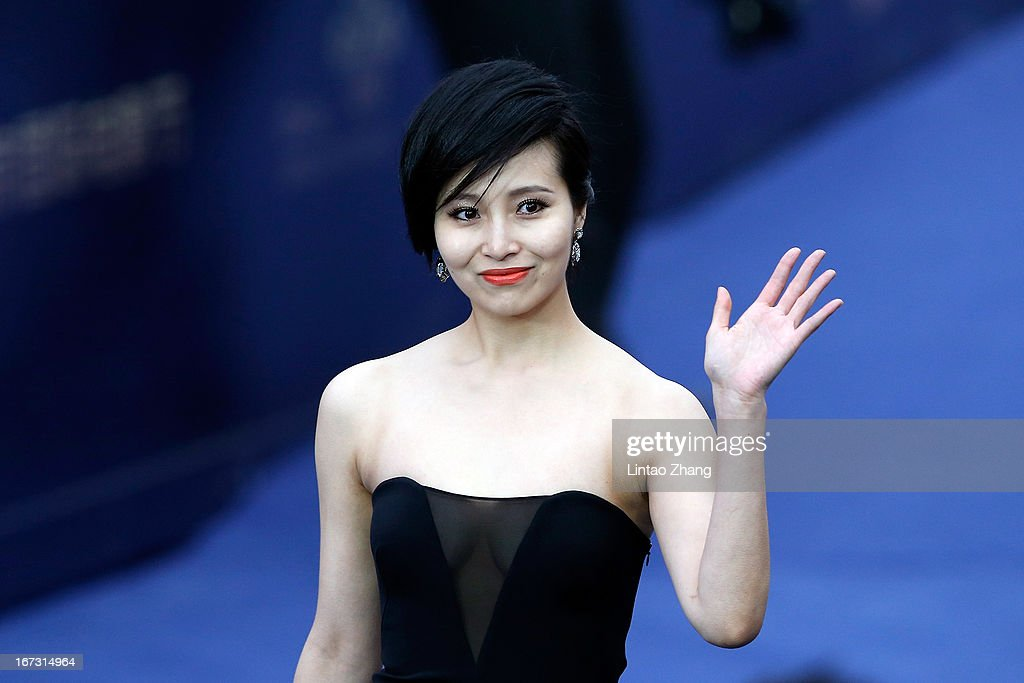 Actor Yang Kaichun arrives at the closing ceremony red carpet during the 3rd Beijing International Film Festival at China National Convention Center on April 23, 2013 in Beijing, China.