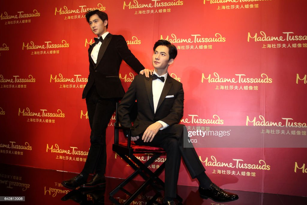 Yang Yang Unveils His Wax Figure In Shanghai Madame Tussauds : News Photo