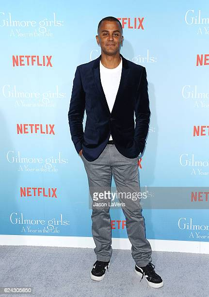 Actor Yanic Truesdale attends the premiere of 'Gilmore Girls A Year in the Life' at Regency Bruin Theatre on November 18 2016 in Los Angeles...