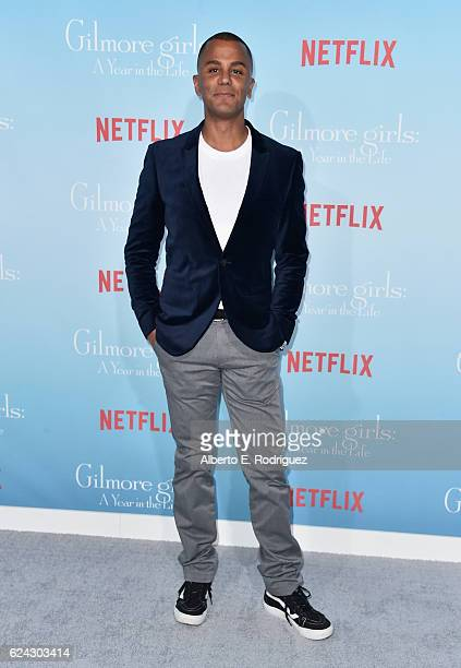 Actor Yanic Truesdale attends the premiere of Netflix's 'Gilmore Girls A Year In The Life' at the Regency Bruin Theatre on November 18 2016 in Los...
