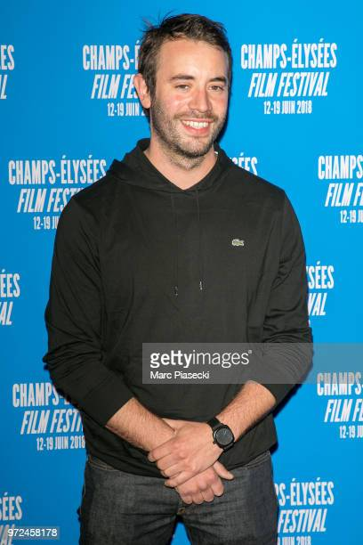 Actor Yaniss Lespert attends the 7th Champs Elysees Film Festival at Cinema Gaumont Marignan on June 12 2018 in Paris France