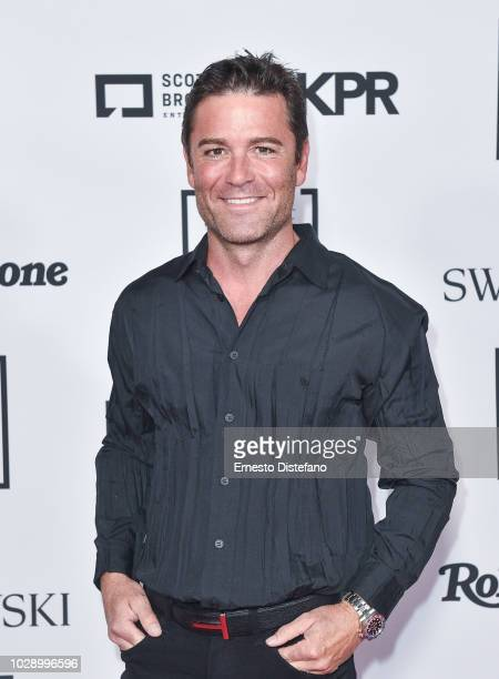 Actor Yannick Bisson attends the IT HOUSE x PRODUCERS BALL 2018 on September 7 2018 in Toronto Canada