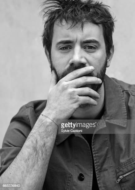 Actor Yannis Lespert is photographed on April 4 2017 in Paris France