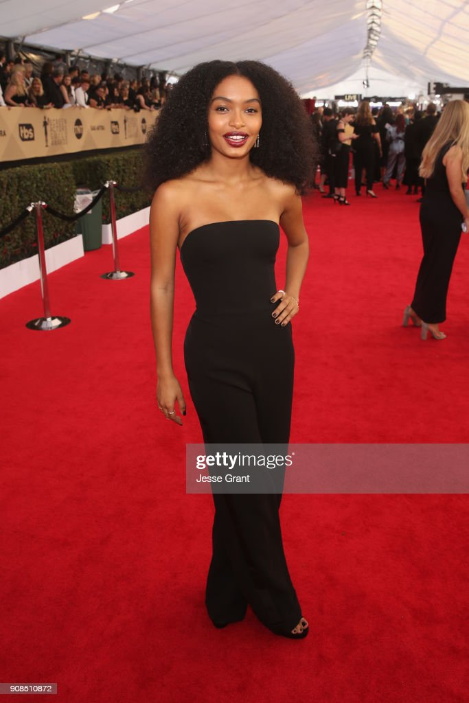 Actor Yara Shahidi attends the 24th Annual Screen Actors Guild Awards at The Shrine Auditorium on January 21, 2018 in Los Angeles, California.