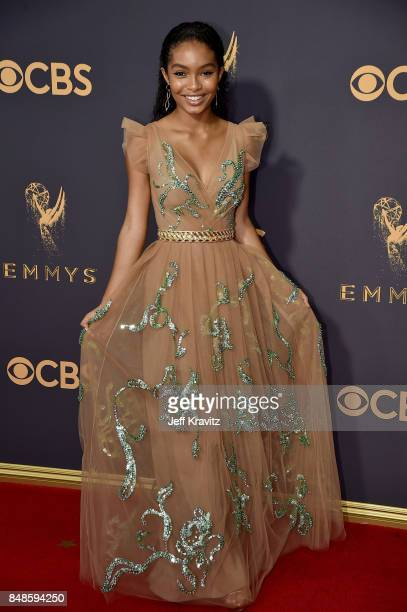 Actor Yara Shahidi attends the 69th Annual Primetime Emmy Awards at Microsoft Theater on September 17 2017 in Los Angeles California