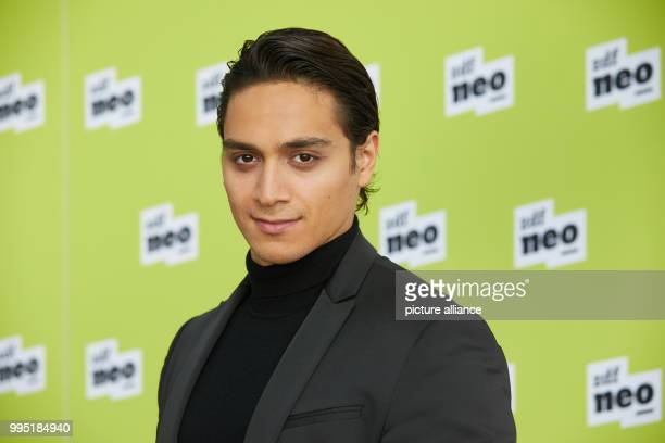 Actor Yasin Boynuince at the German public broadcaster ZDFneo's presentation of two new television series in the ZDF studio in Hamburg Germany 22...