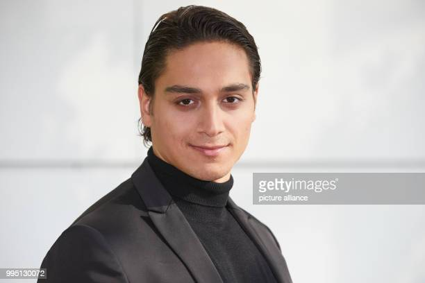 Actor Yasin Boynuince photogrpahed during a photo call for the ZDFneo productions 'Bruder Schwarze Macht' and 'Lobbyistin' at the ZDF regional studio...